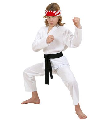 KARATE KID (coat pants black belt) Childrens