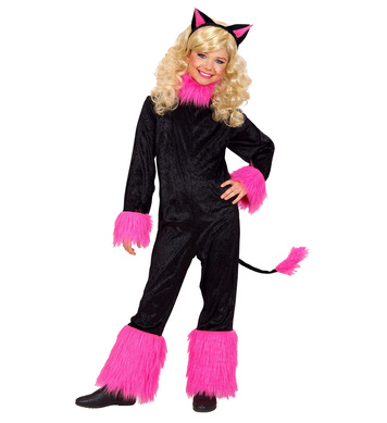 CAT GIRL (jumpsuit with tail ears) Childrens