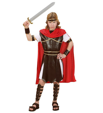 HERCULES (tunic w/armour belt cape cuffs headpiece) Childrens
