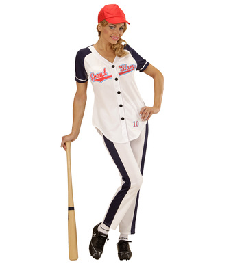 BASEBALL GIRL (shirt pants with belt cap)