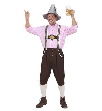BAVARIAN MAN HEAVY FABRIC (shirt lederhosen)