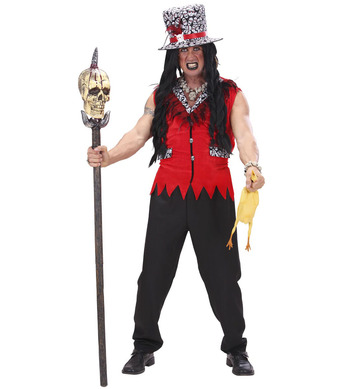 VOODOO PRIEST (jacket pants hat)