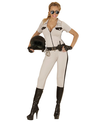 CALIFORNIA HIGHWAY PATROL (overalls belt fingerless glov