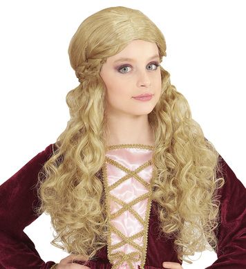 BLONDE MEDIEVAL WENCH WIG in polybag