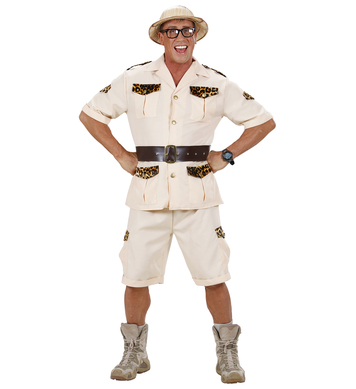 SAFARI MAN (shirt shorts belt)