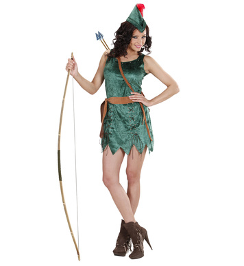ROBIN OF SHERWOOD GIRL (dress belt hat)