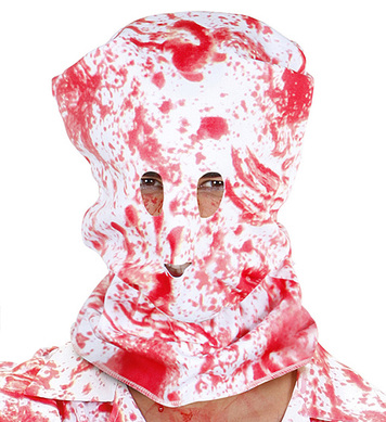 BLOODY HORROR HOOD MASK