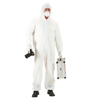 CRIME SCENE INVESTIGATOR (jumpsuit mask gloves)