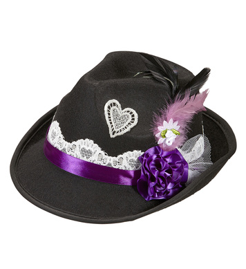 DECORATED TYROLEAN HAT