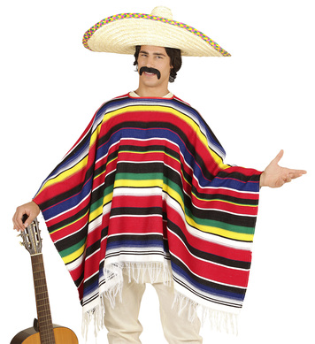 REAL MEXICAN PONCHO