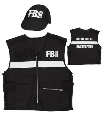 FBI CRIME SCENE INVESTIGATOR (vest hat)