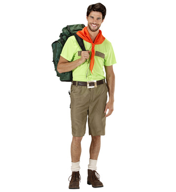 BOY SCOUT (shirt shorts belt scarf)