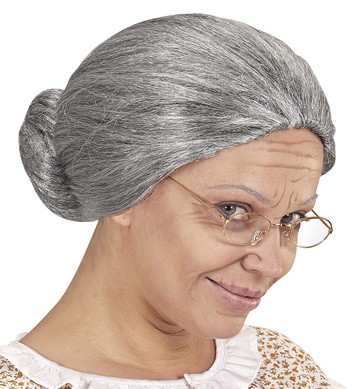 GRANDMOTHER WIG in box