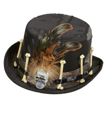 DECORATED VOODOO TOPPER HAT