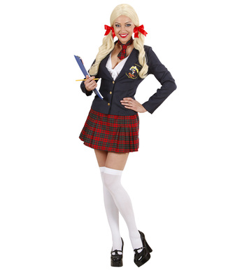 COLLEGE GIRL (jacket top skirt tie)