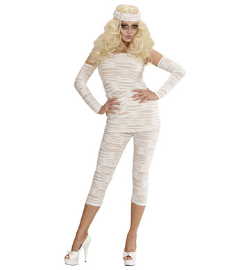 MUMMY GIRL (top leggings fingerless gloves)