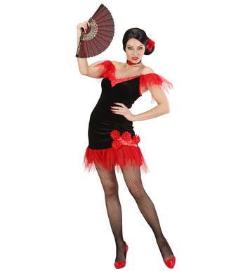 SPANISH BEAUTY BLACK (dress rose choker)