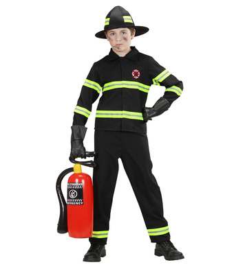 FIREFIGHTER (coat pants helmet) Childrens