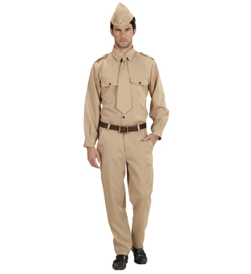 WW2 SOLDIER (shirt pants tie hat)