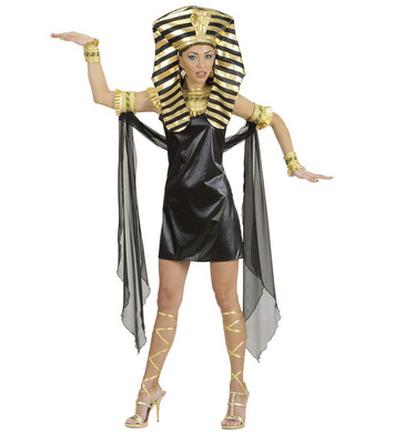 CLEOPATRA (dress collar armbands cuffs leg ties hat)