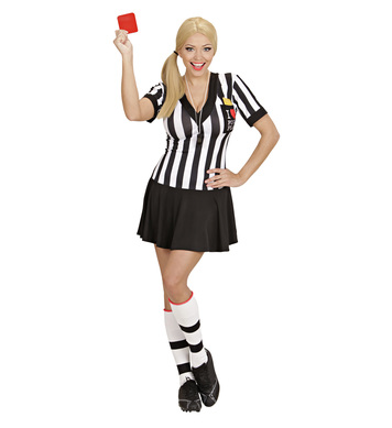 REFEREE (dress whistle yellow & red cards)