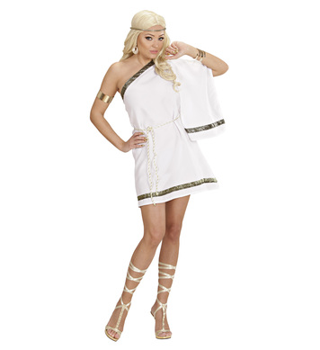 GREEK GODDESS DREAMGIRLZ (dress w/shoulder drape belt)