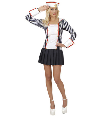 SAILOR DREAMGIRLZ COSTUME (dress with collar hat)