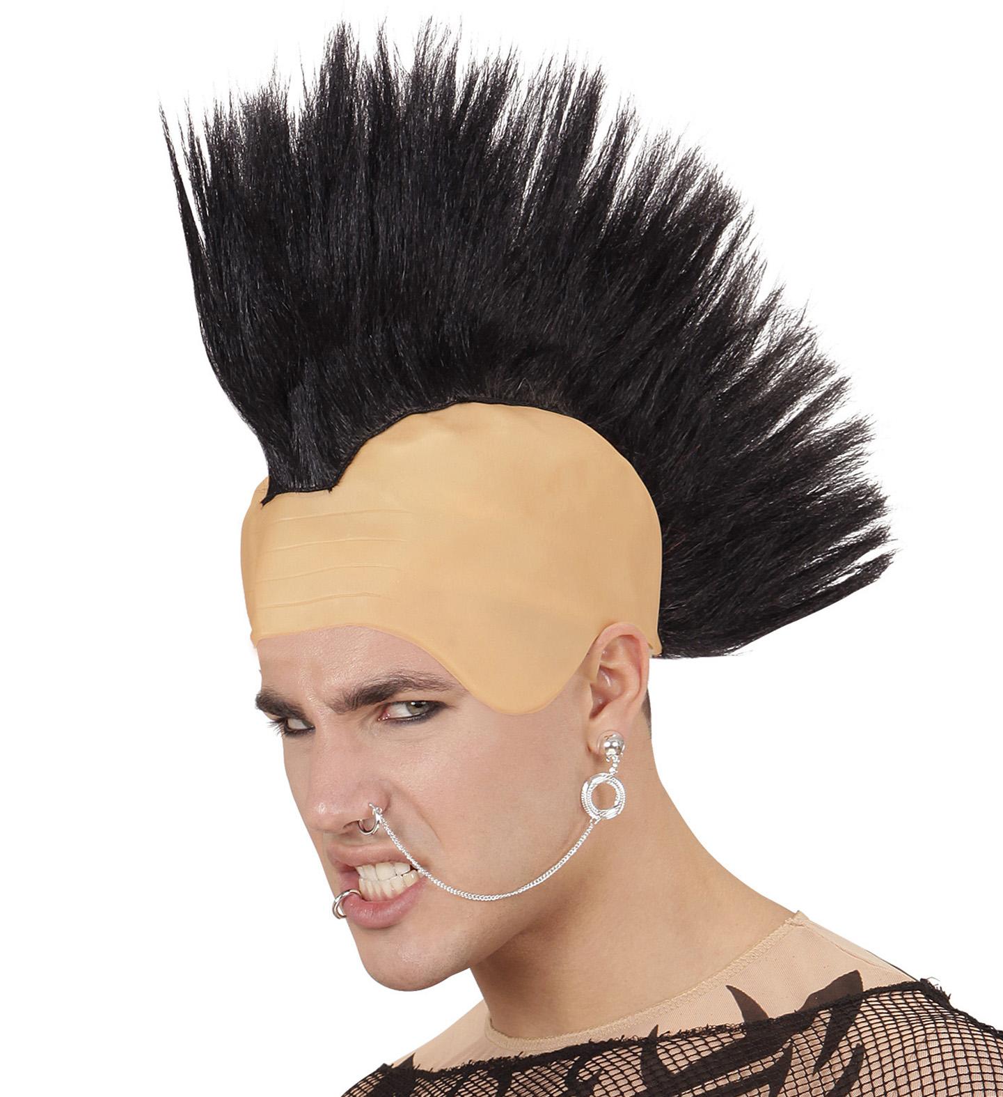 Punk Headpiece Wig Fancy Dress