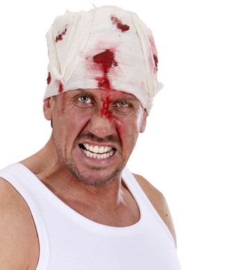BLOODY HEAD BANDAGES