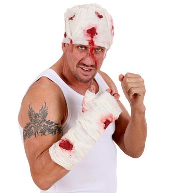 BLOODY ARM BANDAGES