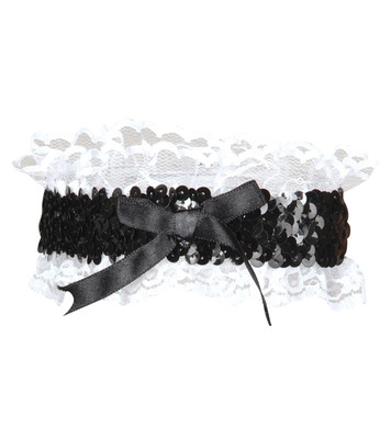 GARTER RETRO SEQUINNED