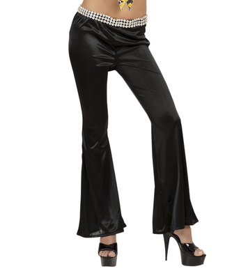 BELL BOTTOMS LADIES M - BLACK