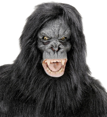 PLUSH KING KONG MASK