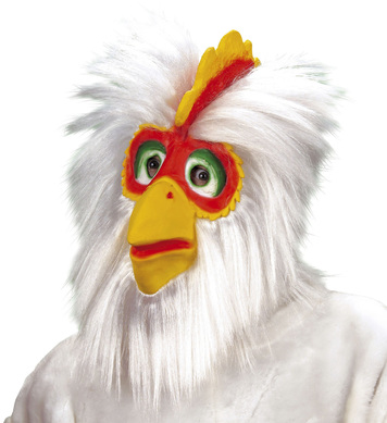 CHICKEN MASK PLUSH