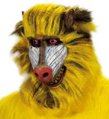 BABOON MASK PLUSH