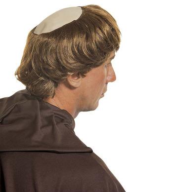 MONK BALDHEAD WITH HAIR