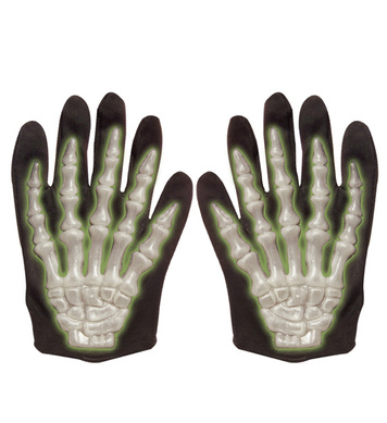 3D GID SKELETON GLOVES - CHILD SIZE