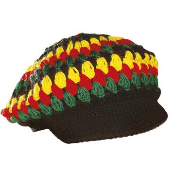 CROCHET REGGAE/RASTA HAT