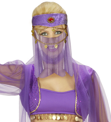HAREM HEAD DRESS W/VEIL