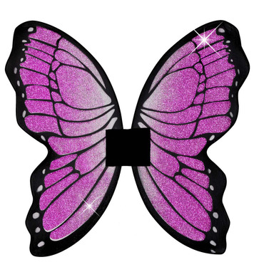 GLITTER BUTTERFLY WINGS 50cm x 50cm