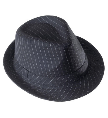 GANGSTER HAT STRIPED