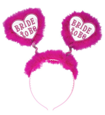 BRIDE TO BE HEAD BOPPERS - WHITE