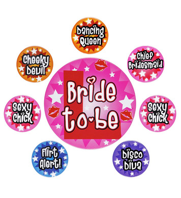 BACHELORETTE PARTY - SET OF 8