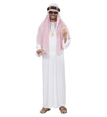 ARAB SHEIK MAN (robe headpiece)