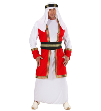 ARAB PRINCE (robe w/vest belt hat)