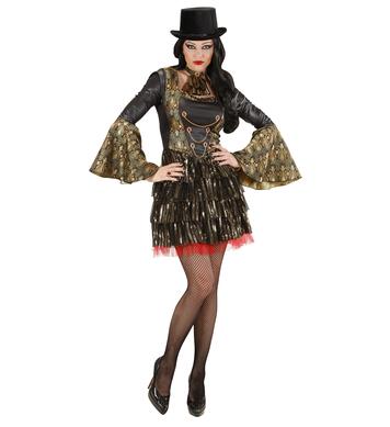 GOTHIC VAMPIRESS (dress jabot)