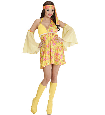70s GIRL - YELLOW (dress sleeves)