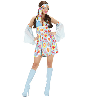 70s GIRL - LIGHT BLUE (dress sleeves)