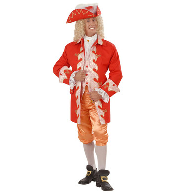 18th CENT FRENCH ROYAL COURT MAN (coat/vest pants hat)