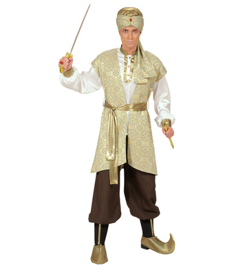 PRINCE OF PERSIA (shirt vest pants belt shoecovers hat)